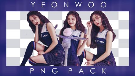 Yeonwoo Png Pack by Auwbby