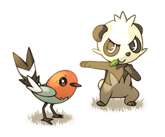 Fletchling and Pancham