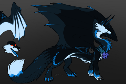 Fox Dragon Adopt - SOLD by DRGNCAT