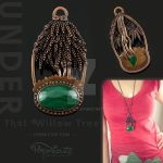 Under That Willow Tree Pendant Necklace