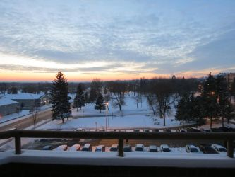view from my dorm by Ninjaboy56