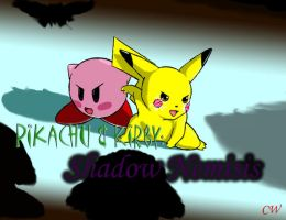 Pikachu + Kirby:Shadow Nemisis by TheUnlimited