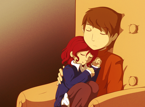 Mystery Room-Professor Layton: Afternoon Nap by CoolFireBird