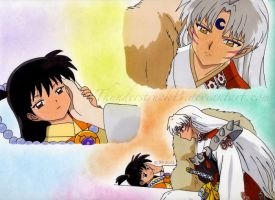 Sesshomaru And Rin- Someone To Protect by ThunderstruckB