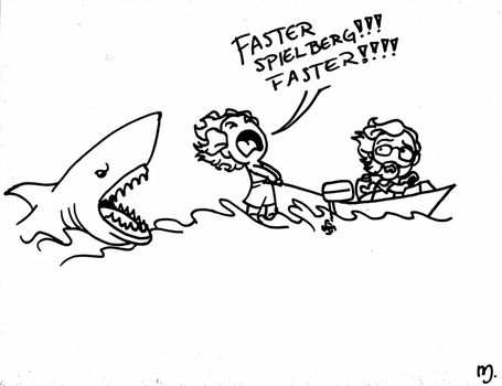CHIBI  jaws by DemonCartoonist