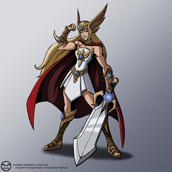 She-Ra (Re-Design) by KrisSmithDW