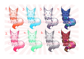 Coonies Adoptables [ OPEN ] REDUCED PRICES by XenoniAdopts