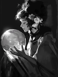 Value study by Gallifreyevermore