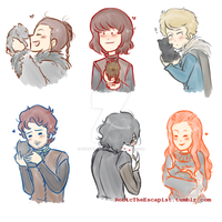 _OhNoThey'reCute_ by RobicTheEscapist