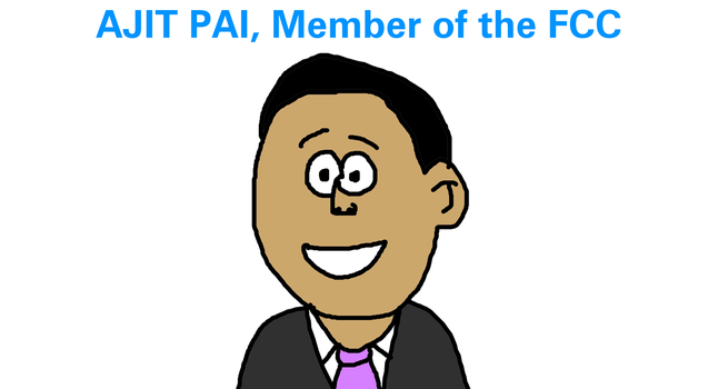Ajat Pai, FCC Member by MikeEddyAdmirer89