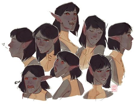 expression dump by domirine