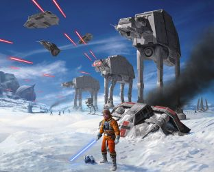 Battle of Hoth by R-Valle