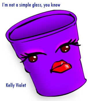 Gift for Kelly Violet by cacell