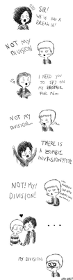 Lestrade's division by RoseFelicis