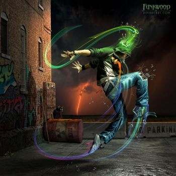 Toxic Dancer by funkwood