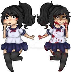 Yandere-chan ::Charm designs:: by Impopentti