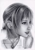Serah Drawing 3 by B-AGT