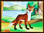 The Bold Young Fox by Berenfox