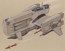 Shiuran -heavy fighter-bomber by Jepray
