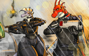 Defending the Highway (commission) by xTrent968
