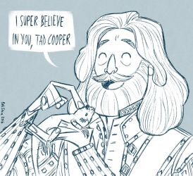 I super believe in you, Tad Cooper by SilviaBelli