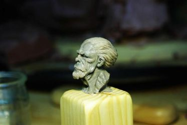 old man 1 by sculptart31