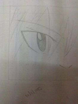 Natsu's Eyes Sketch [Another Fairy Ta(i)l(e) Douj] by LilyRose98