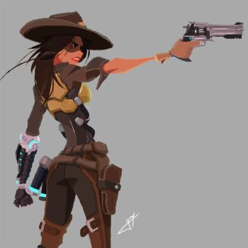 Lady McCree by guywhodoesart
