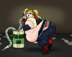Harley Quinn by Currents