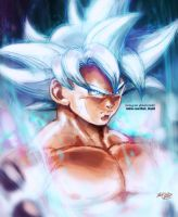Goku mastered Ultra Instinct by Mark-Clark-II