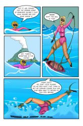 Bonehead Island page one by Chickfighter
