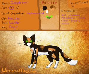 Dapplestar FireClan Application by IvypoolForever