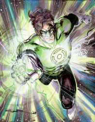 Green Lantern 01 by Cinar