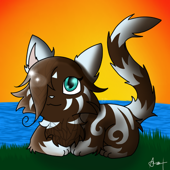 River view ~Gift~ by AzuelArt