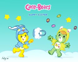 Care Bears - Happy Easter 2 by posole