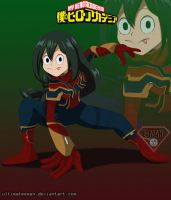 Tsuyu (iron spider) by ultimateEman