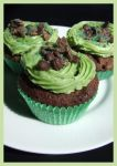 Mint Chocolate Cupcakes by RainbowsandDaydreams