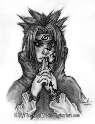 Sasuke Fanart: I See You by The-Beautiful-Sin