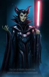 The Sith Lord: Darth Maleficent by pinkhavok