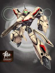 26/32 Robots / YF-19 Valkyrie by FranciscoETCHART