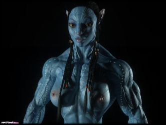 What if Neytiri was WAY more jacked than Jake by Tigersan
