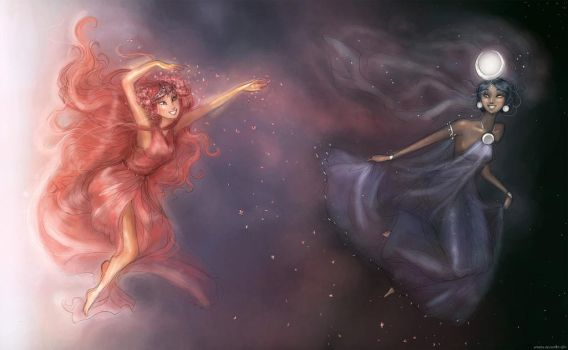 Eos and Selene by Arbetta