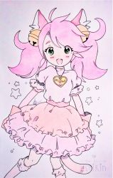 +Mew Mew Kissy (color doodle)+ by ushirin