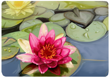 Lily Pad by Ghostlyfail