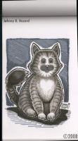 Kitty: Marker Drawing by MRHaZaRD