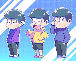 Some Matsus by Drawn-Mario