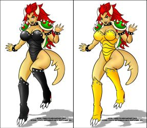 Halloween/carnival Bowsette costume by Daelyth