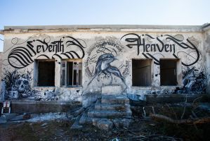 SEVENTH HEAVEN Calligraphy by sectiongraphix