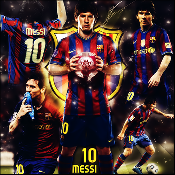 Lionel Messi by XxJer3mxX
