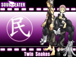 Soul Eater_ Twin Snakes by DeathGuns
